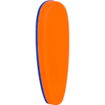 S17-O-BB. Bicolor (Orange-Bright Blue)17mm
